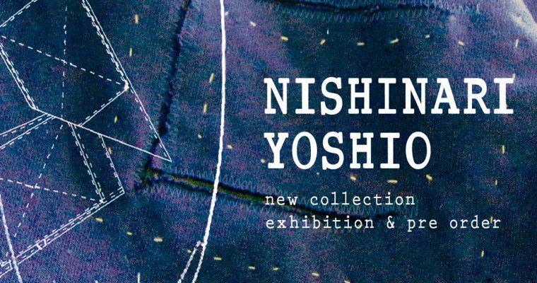 NISHINARI YOSHIO ー 最新情報